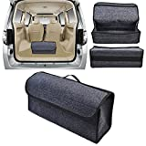 Portable and Universal Auto Trunk Organizer, Storage Bag for Automobile Trunk Durable Gadget First Aid Storage Organizer Bag for Car/SUV//Jeep/Van/Truck