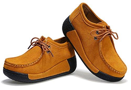 GFONE - Zapatos de tacón  mujer marrón