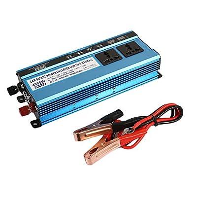 Sedeta 4000W 12V/220V car power inverter charger High Frequency LED Display Outlet jump starter for camping
