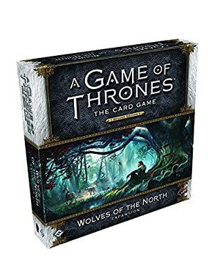 A Game of Thrones LCG 2nd Edition: Wolves of the North Deluxe Expansion Card Game by Fantasy Flight Publishing