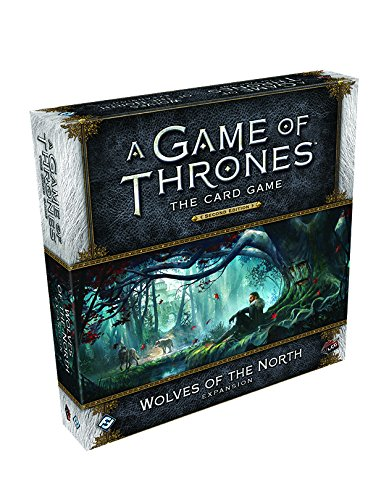 UPC 841333101190, A Game of Thrones LCG 2nd Edition: Wolves of the North Deluxe Expansion Card Game