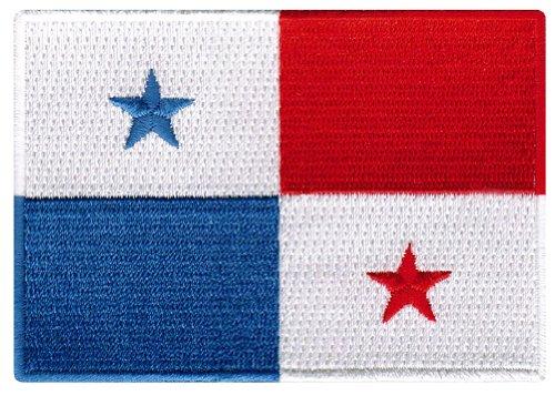 Panama Flag Embroidered Patch Panamanian Iron-On National Em