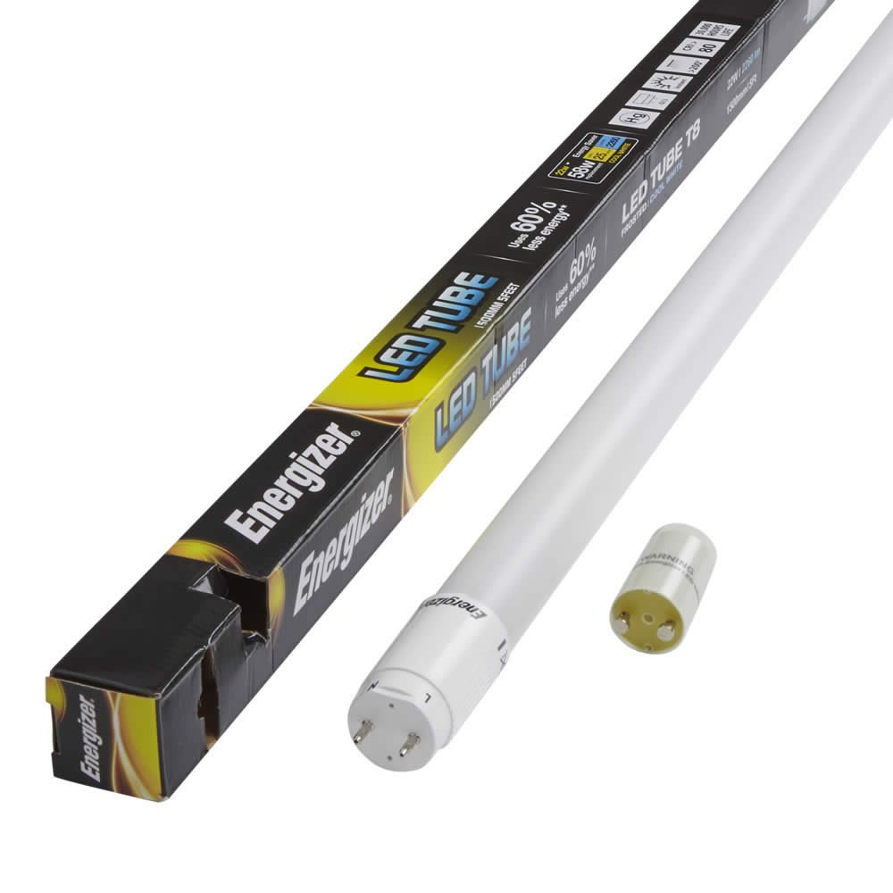 Energizer Hightech T8 Led Tube Retrofit Fluorescent 1500mm Light Circuit Diagram Buy Replacement Includes Starter Bundles Of X2 X4 X6 X12 Available 1x 5ft Day