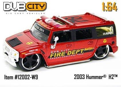 HUMMER H2    #060            2003 JADA TOYS DUB CITY     1:64 DIE-CAST