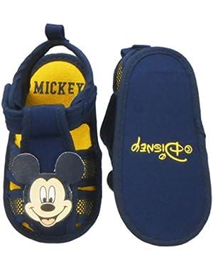 Newborn/Infants Boys Mickey Mouse Slip-On Loafer