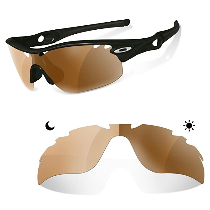 Sunglasses Restorer Lentes Fotocromaticas Polarizadas Marron 30- 45 % de Recambio para Oakley Radarlock Ventilada