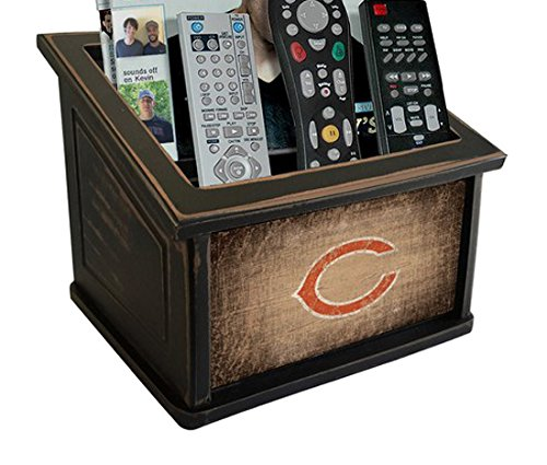 Fan Creations N0765-CHI Chicago Bears Woodgrain Media Organizer, (Chi Bears)