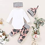 Renotemy Newborn Girl Clothes Outfits Ruffle Long