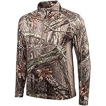 Huntworth Men's Mid Weight ¼ Zip Performance Fleece Hunting Pullover
