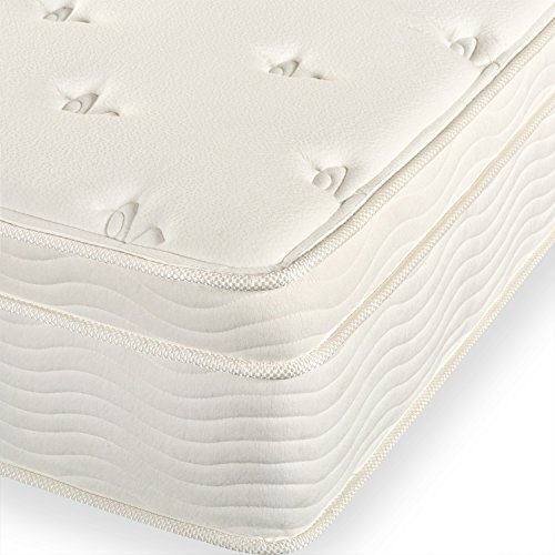 Sleep Master Ultima® Comfort 13 Inch Deluxe Euro Box Top Spring Mattress,...