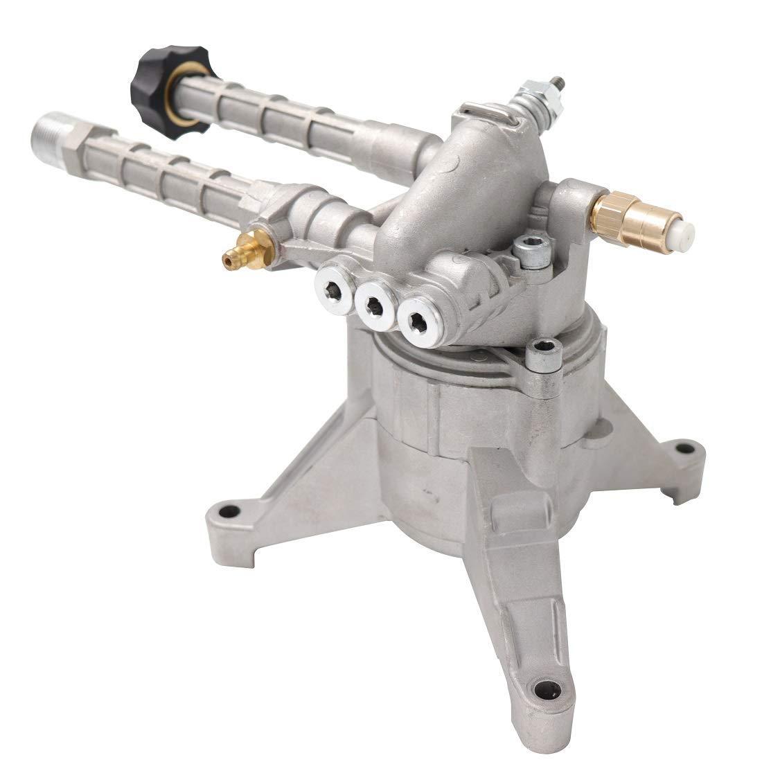 EDOU Gas Pressure Washer Pump Replacement 7/8'' Diameter Shaft Plunger Vertical Pump Axial Horizontal Pump Easy Start,2500 PSI 2.3 GPM