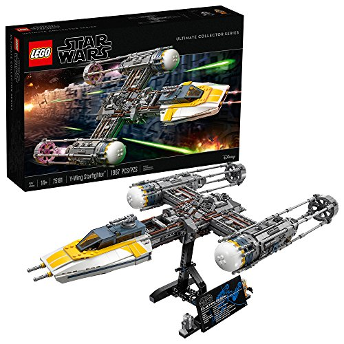 LEGO Star Wars Y-Wing Starfighter 75181 Building Kit (1967 Pieces) (Best Collector Lego Sets)