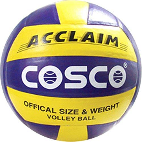 Cosco Acclaim PU Volley Ball, Size 4,  Multicolour