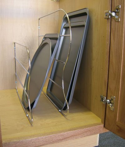 Chrome Tray Dividers - 6