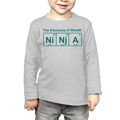 Price comparison product image GssWx-07 Ninja Element Child Shirt,Long Sleeve Tee For Boy