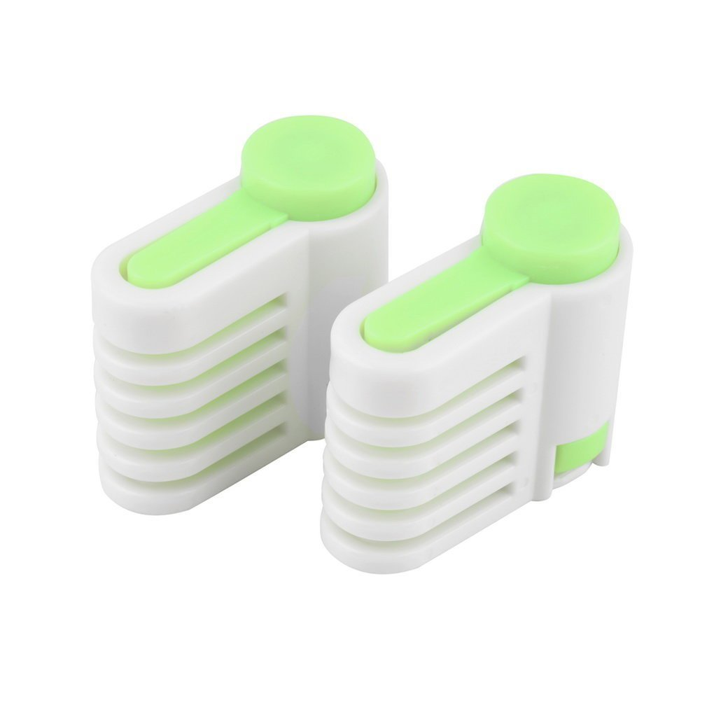 Green 5 Layers Kitchen DIY Cake Bread Cutter Leveler Slicer Cutting Fixator Tools