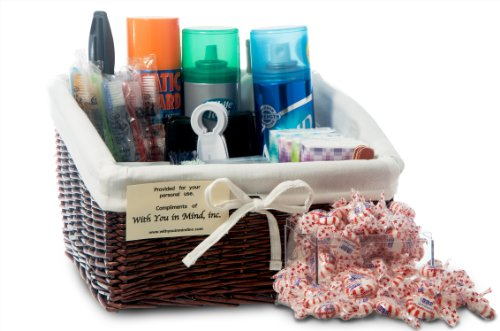 With You In Mind, Inc - Restroom Amenity Basket - Men - more than 50 guests