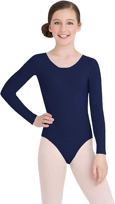 Capezio Girls Team Basics Long Sleeve Leotard