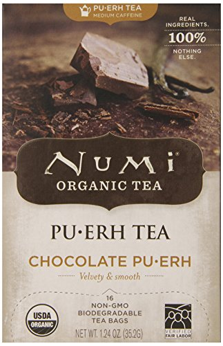 Numi Chocolate Pu Erh Count Pack
