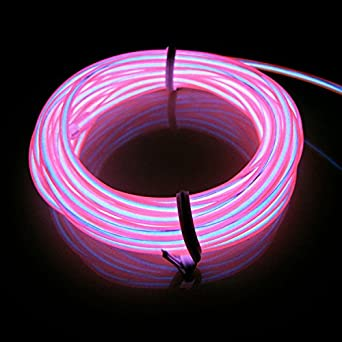 Lerway® 3M Elektrolumineszenz EL Wire Rope LED Beleuchtung ...