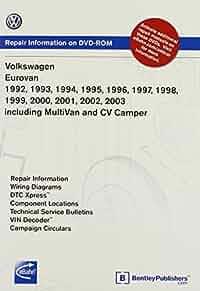volkswagen eurovan 1992, 1993, 1994, 1995 1996, 1997, 1998, 1999volkswagen eurovan 1992, 1993, 1994, 1995 1996, 1997, 1998, 1999 2000, 2001, 2002, 2003 including multivan and cv camper repair manual on dvd rom (windows