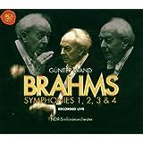 Brahms: Die Sinfonien Nr. 1, 2, 3 & 4