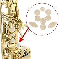 Botones de botón de saxofón de nácar