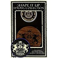 Dear Barber Shape it Up Men's Grooming and Hair Styling Mattifier and Shaping Cream Set Collection
