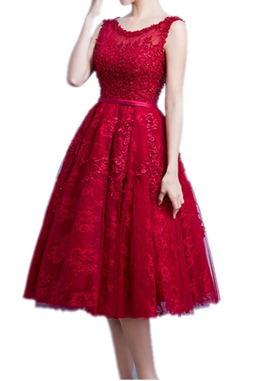 Charm Bridal Long Junior Homecoming Dresses for Girls A-line Tea-Length 2016