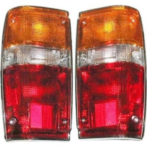 (Toyota Pickup Replacement Tail Light Assembly (Chrome) - 1-Pair)