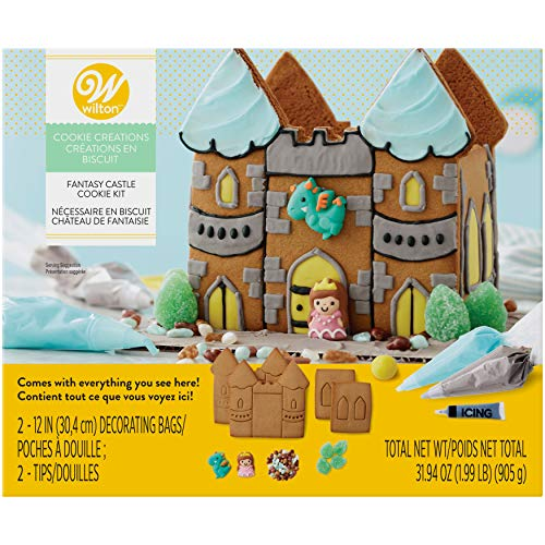 Wilton Cookie Creations Fantasy Castle Cookie Kit