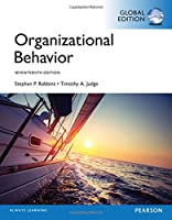 Organizational Behavior, Global 17th Edition Front Cover