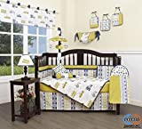 GEENNY 13 Piece Boutique Baby Nursery Crib Bedding Set, Transportation Cars, Multi-Colors, Crib
