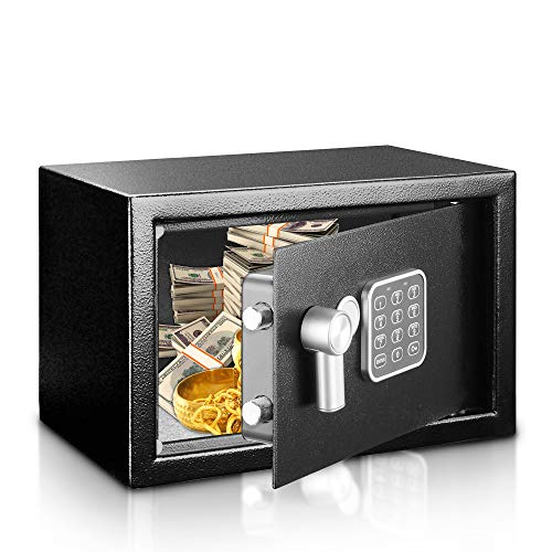 Use a digital safe box to store valuables