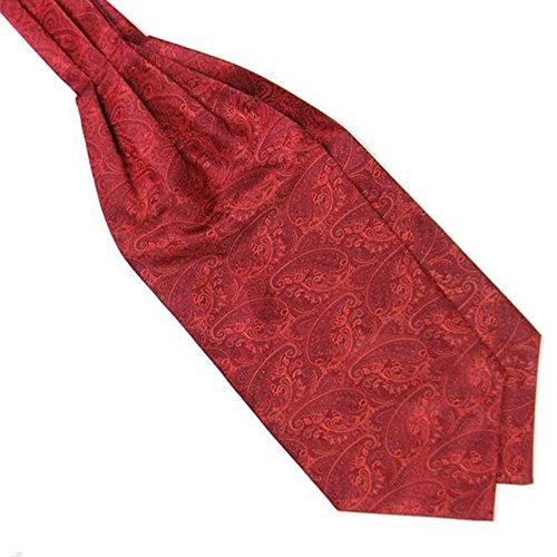 Red Style Polyester San Gift Bodhi® Cravat Elegant Retro Men Suit Neckties Jacquard BEqXrPqR