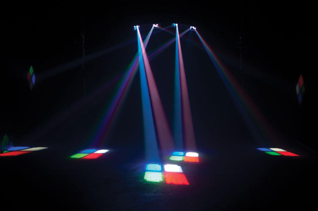 Amazon.com: American DJ Supply Double Phase LED Dual