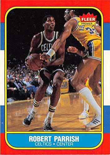 Robert Parrish basketball card (Boston Celtics Chief 67) 1986 Fleer #84 ()