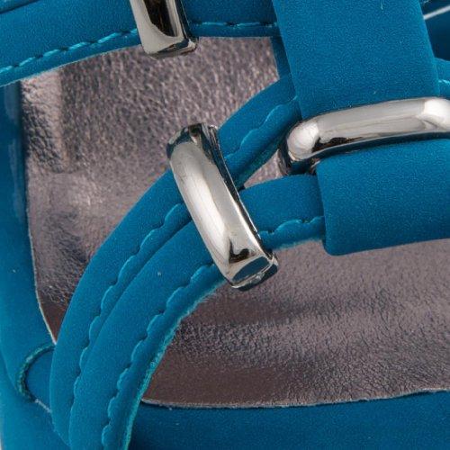 Dolcis - Sandalias de vestir de sintético para mujer azul - Teal