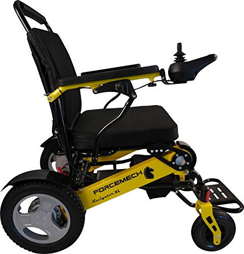 Forcemech Navigator XL - Premium Folding Electric Wheelchair (Navigator - Wheelchairs Lift Mobility Power Scooters Chairs Electric