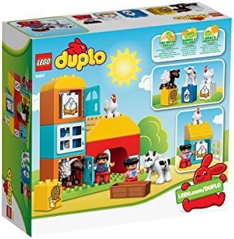 LEGO Duplo 10617 - Mein erster Bauernhof, Lernspielzeug für Kleinkinder