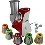 Salad Maker Mini Food Processor and Produce Shooter - Red