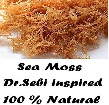 Amazon com: NATURAL,SEA MOSS (RAW) 8 0Z - IRISH MOSS