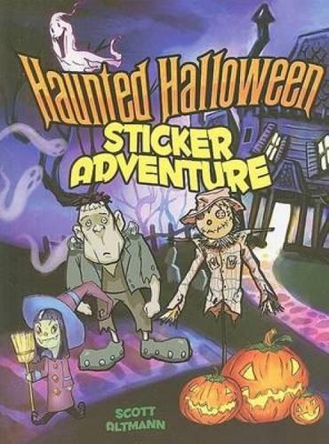 Read Online Haunted Halloween Sticker Adventure (Dover Sticker Books) PDF