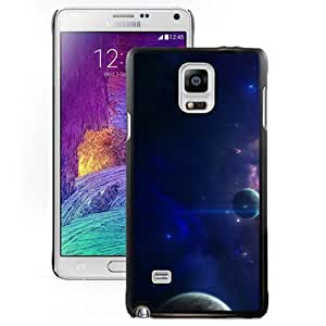 Close Planets Art Hard Plastic Samsung Galaxy Note 4 Protective Phone Case