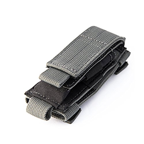 TACTICAL MOLLE 1000D NYLON CASE SHEATH FOR MULTI TOOLS KNIVES FLASHLIGHT TORCH