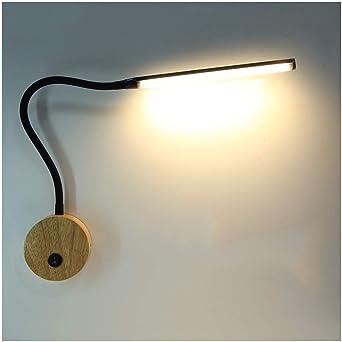 & apliques pared dormitorio Lámpara de pared, LED de larga Polo ...
