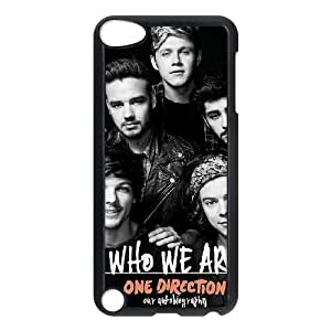 Ipod Touch 5 2D Custom Phone Back Case with one direction Image