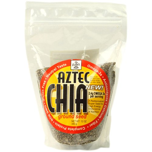 Anutra Aztec Chia Ground Seed, 12 Ounce