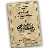 Mccormick Deering 15-30 Tractor Operator Owners Manual Ihc Farmall International