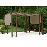 Deluxe Pergola Replacement Canopy For Sale